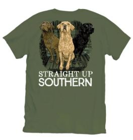 Straight Up Southern Three Dogs T-Shirt - YOUTH