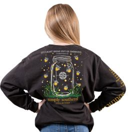 Simply Southern Shineout Long Sleeve T-Shirt - YOUTH