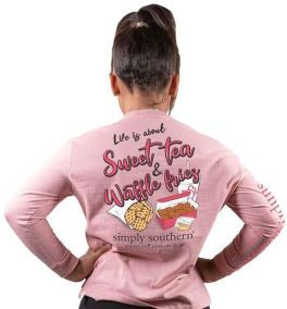Simply Southern Sweet Long Sleeve T-Shirt - YOUTH