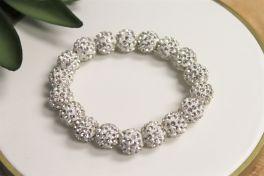 Bling Bracelet - White