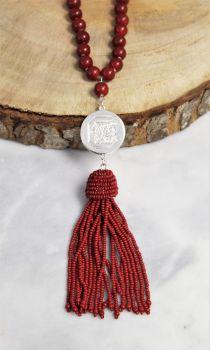 Gamecocks Lala Tassel Necklace