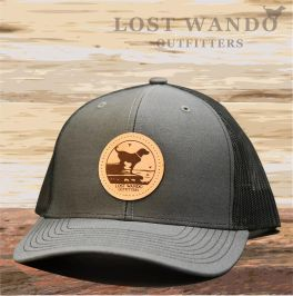Wando Ready To Go Hat - Charcoal & Black