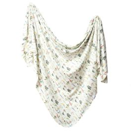 Knit Swaddle Blanket - Aspen