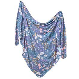 Knit Swaddle Blanket - Meadow