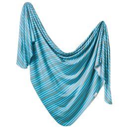 Knit Swaddle Blanket - Milo