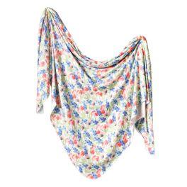 Knit Swaddle Blanket - Wren