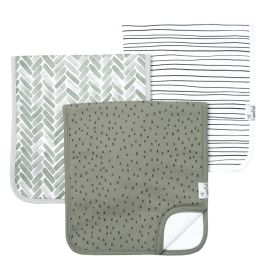 Premium Burp Cloth Set - Alta