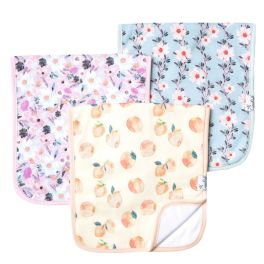 Premium Burp Cloth Set - Morgan