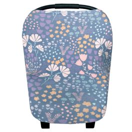 Multi-Use Car Seat Cover & Nursing Cover - Meadow