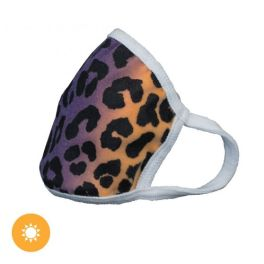 Del Sol Color Leopard Changing Face Mask - Youth