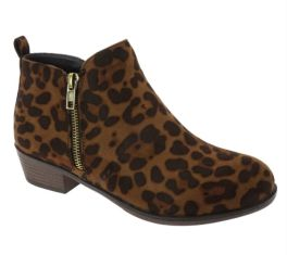 Love Is The Answer Boots - Leopard