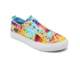 Step Into My World Sneakers - Tie Dye