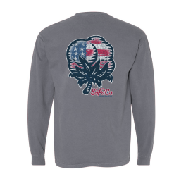 Southern Fried Cotton American Cotton Long Sleeve T-Shirt