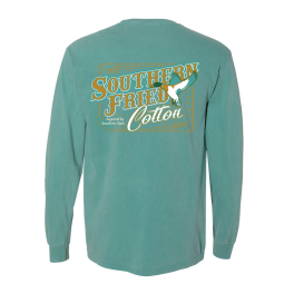 Southern Fried Cotton Flying Mallard Long Sleeve T-Shirt