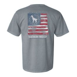 Southern Fried Cotton Flying Free Short Sleeve T-Shirt