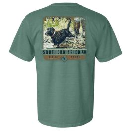 Southern Fried Cotton Waters Edge Short Sleeve T-Shirt