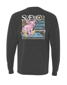 Southern Fried Cotton Dancin' In The Rain Long Sleeve T-Shirt