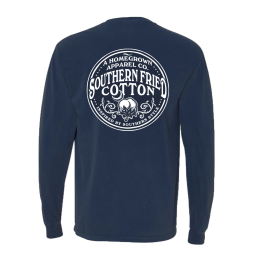 Southern Fried Cotton Medicine Bottle Long Sleeve T-Shirt