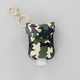 Hand Sanitizer Keychain - Camo