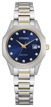 Ladies Stainless Steel Corso Citizen Eco-Drive Watch