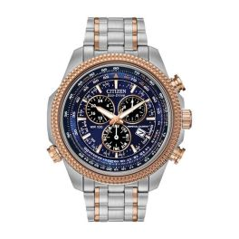 Mens Stainless Steel Brycen Citizen Eco-Drive Watch