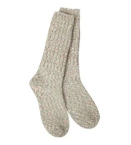 World's Softest Ragg Crew Socks - Earthy