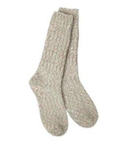 World's Softest Ragg Crew Socks - Earthy