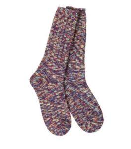 World's Softest Ragg Crew Socks - Sedona