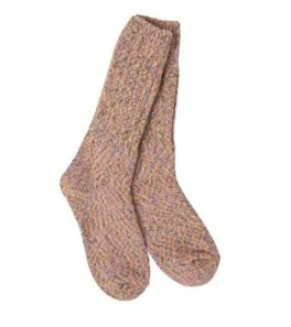 World's Softest Ragg Crew Socks - Golden Fields