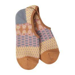 World's Softest Weekend Gallery Footsie Socks - Golden Fields