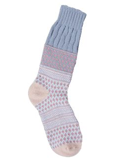 World's Softest Textured Crew Socks - Rachael