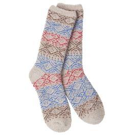 World's Softest Cozy Crew Socks - Blitz Taupe