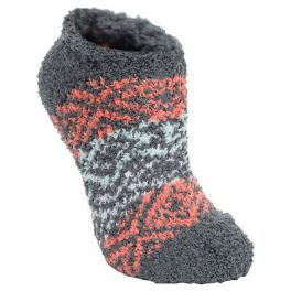 World's Softest Cozy Low Socks - Blitz Charcoal