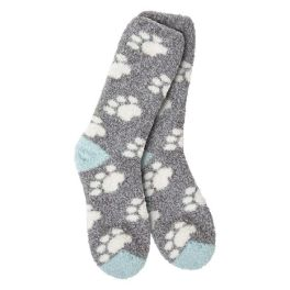 World's Softest Knit Pickin' Fireside Crew Socks - Pawfect