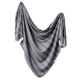 Knit Swaddle Blanket - Canyon