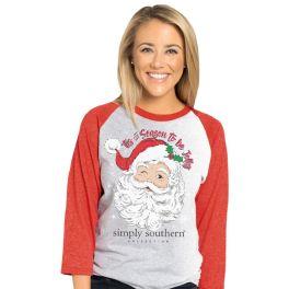 Simply Southern Jolly Raglan T-Shirt