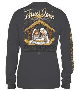 Simply Southern Barn Long Sleeve T-Shirt - YOUTH
