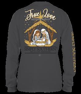 Simply Southern Barn Long Sleeve T-Shirt - YOUTH