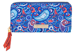 Simply Southern Phone Wallet With Wristlet Strap - Paisley