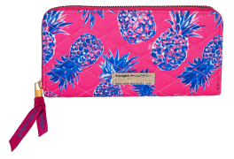Simply Southern Phone Wallet With Wristlet Strap - Pineapple