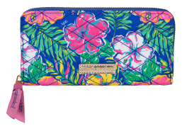 Simply Southern Phone Wallet With Wristlet Strap - Tropic