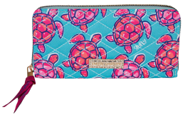 Simply Southern Phone Wallet With Wristlet Strap - Turtle