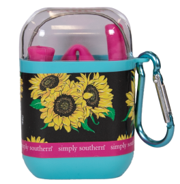 Simply Southern Travel Straw - Sunflower