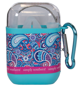 Simply Southern Travel Straw - Paisley