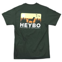 Heybo Dog Skyline Short Sleeve T-Shirt