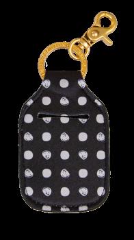 Hand Sanitizer Holder Keychain - Dots