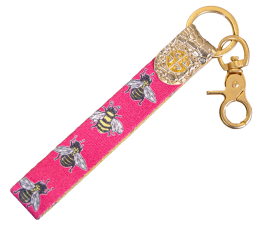 Simply Southern Key Fob - Bee