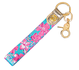 Simply Southern Key Fob - Hibiscus