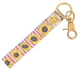 Simply Southern Key Fob - Sunflower