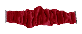 Simply Southern Scrunchie Watch Band - Deep Red